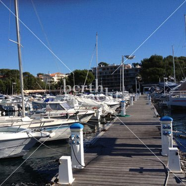 Marina Yacht berths and Moorings for sale in Port Santa Lucia Saint Raphael French Riviera