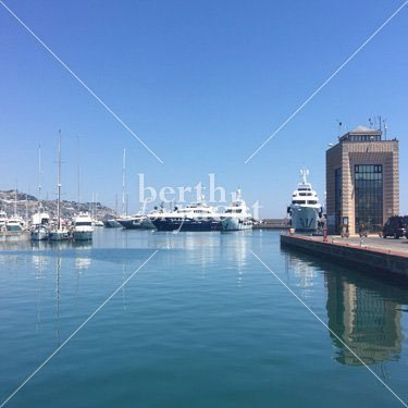 Marina Yacht berths and Moorings for sale in San-Remo- Italy