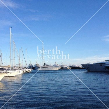 Marina Yacht berths and Moorings for sale in port Camille Rayon-Golfe-Juan
