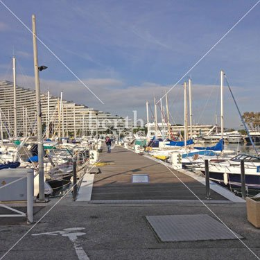 Marina Yacht berths and Moorings for sale in Port Marina Baie des Anges  French Riviera