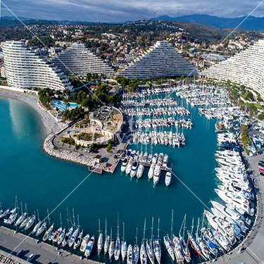 Marina Yacht berths and Moorings for sale in Port Marina Baie des Ange French Riviera