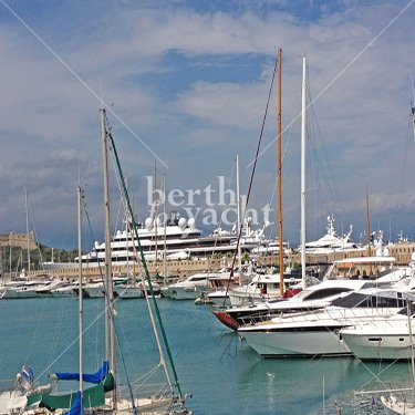 Marina Yacht berths and Moorings for sale in port Vauban Antibes - French-Riviera