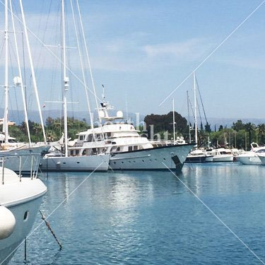 Marina Yacht berths and Moorings for sale in Port Vauban French Riviera