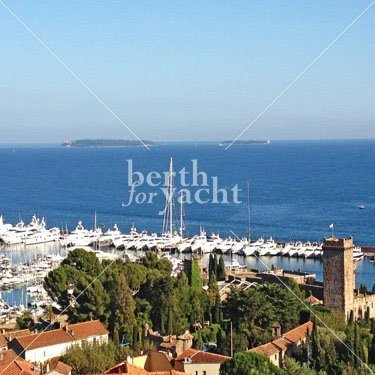 Marina Yacht berths and Moorings for sale in Port La Napoule French Riviera