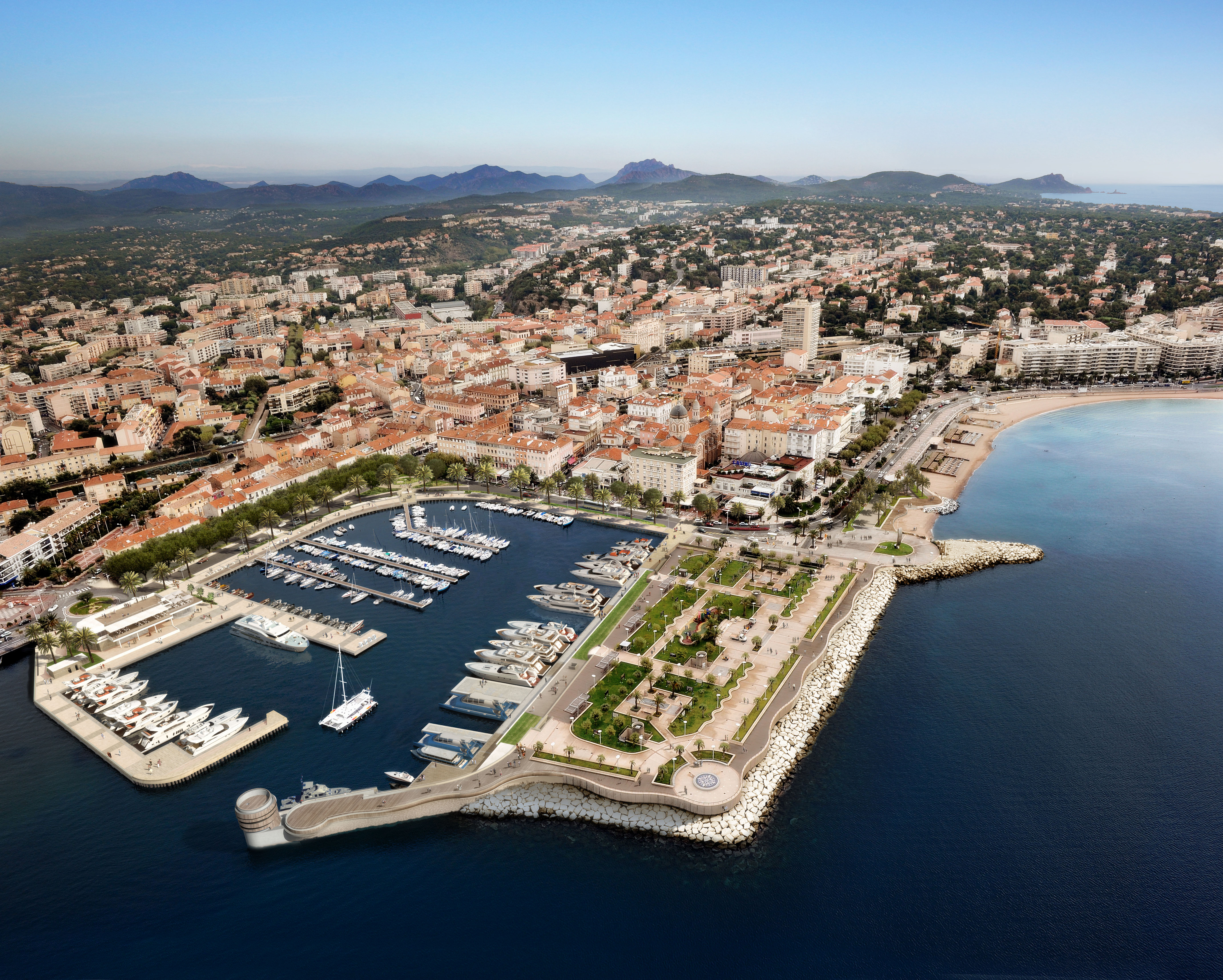 Renovation of Saint-Raphaël Old Port on the French Riviera