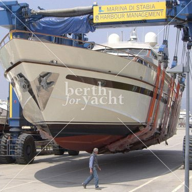 Super and mega berths for sale marina di stabia