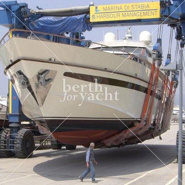 Super and mega berths for sale marina di stabia